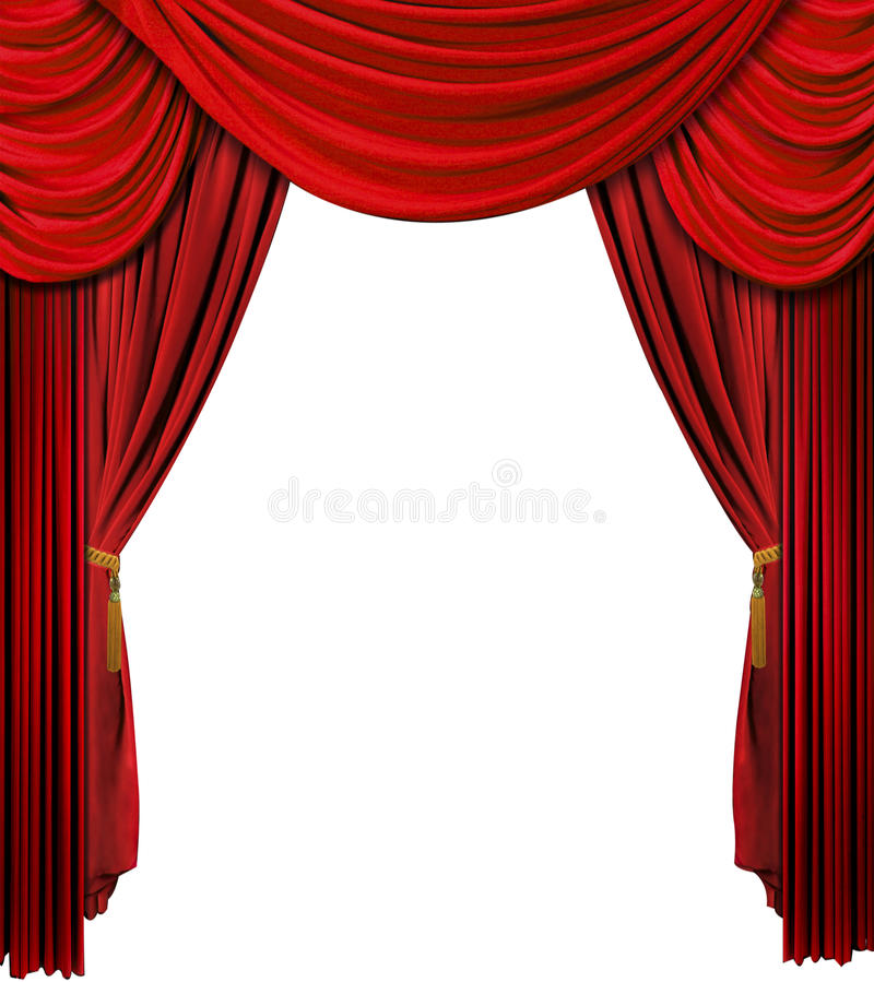 Stage curtain royalty free stock images