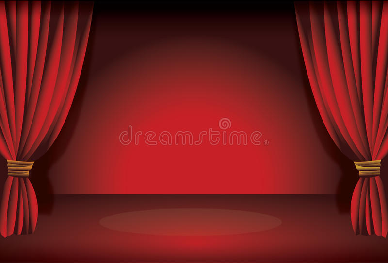 Stage Curtain Stock Photos