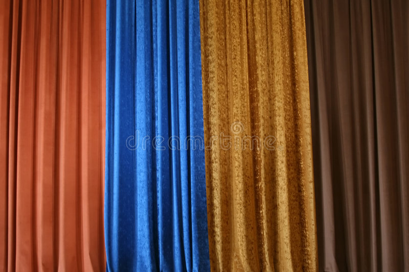 Download Stage curtain stock image. Image of cover, decoration - 1508381