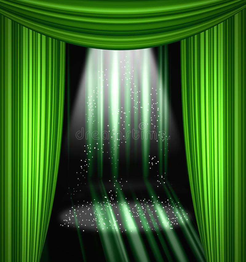 Download Stage Curtain Stock Photos - Image: 16777933