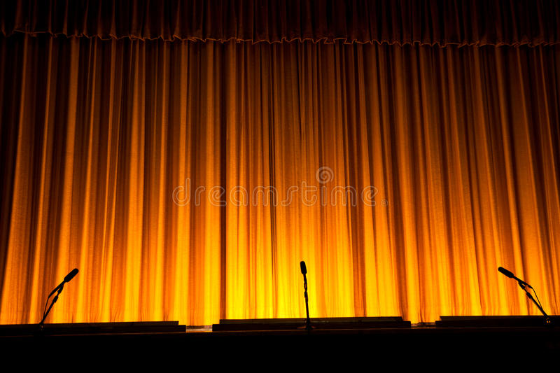 Download Stage Curtain stock photo. Image of theater, stage, dark - 19982776