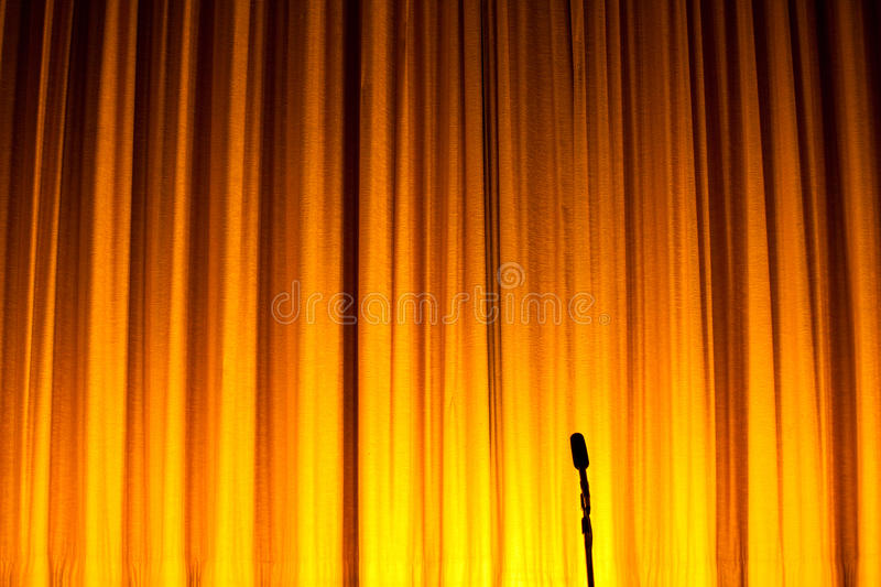Download Stage Curtain Royalty Free Stock Photography - Image: 20519757
