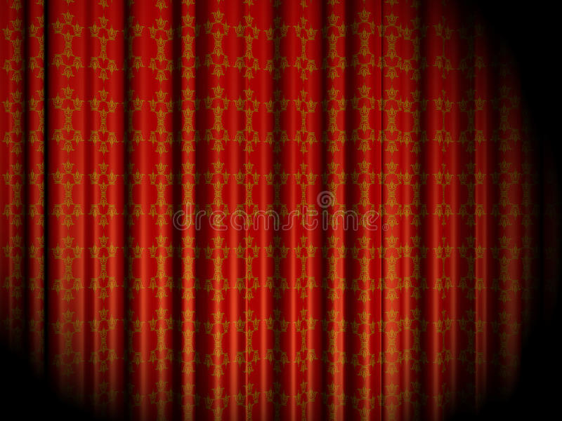 Download Stage Curtain Royalty Free Stock Photos - Image: 28234508