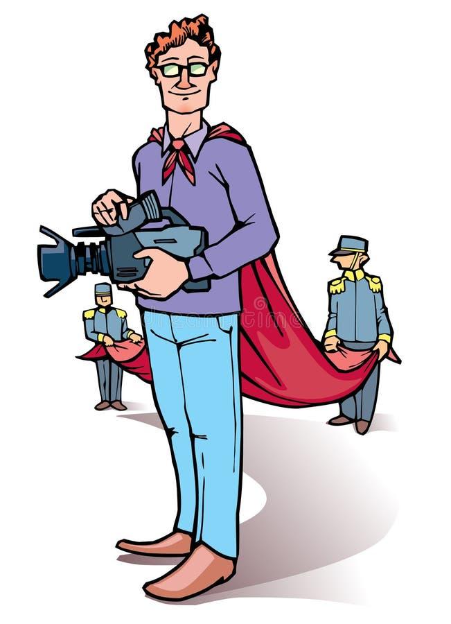 Download Stage director stock vector. Image of cartoon, filmmaking - 24171550