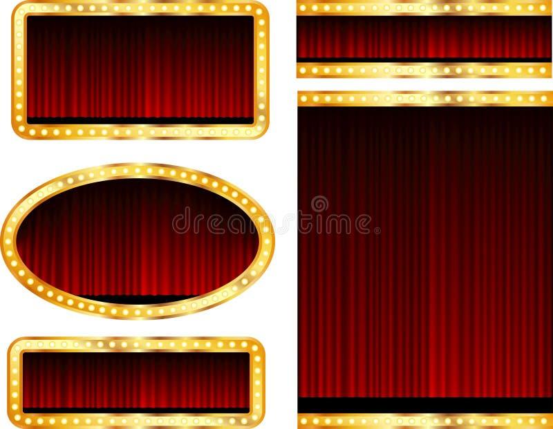 Stage Displays Royalty Free Stock Photos