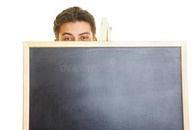 Stage Fright stock photography