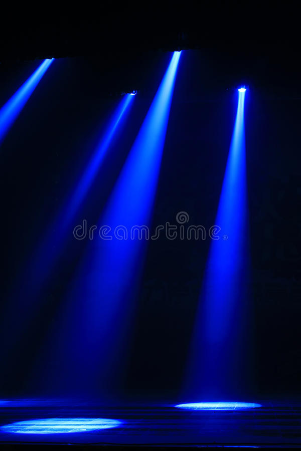Stage lighting effect royalty free stock image