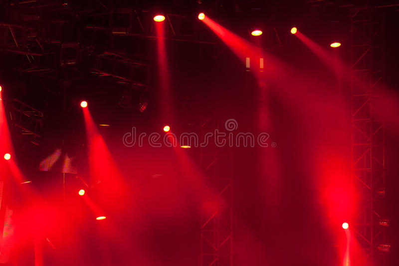 Stage lights 10 stock photos