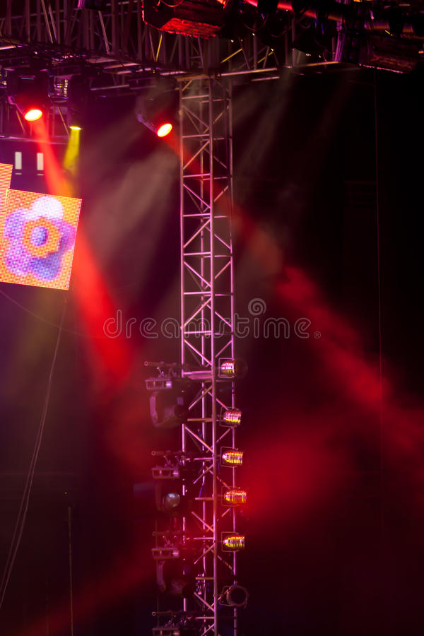 Download Stage lights 12 stock photo. Image of performance, spotlight - 18180874