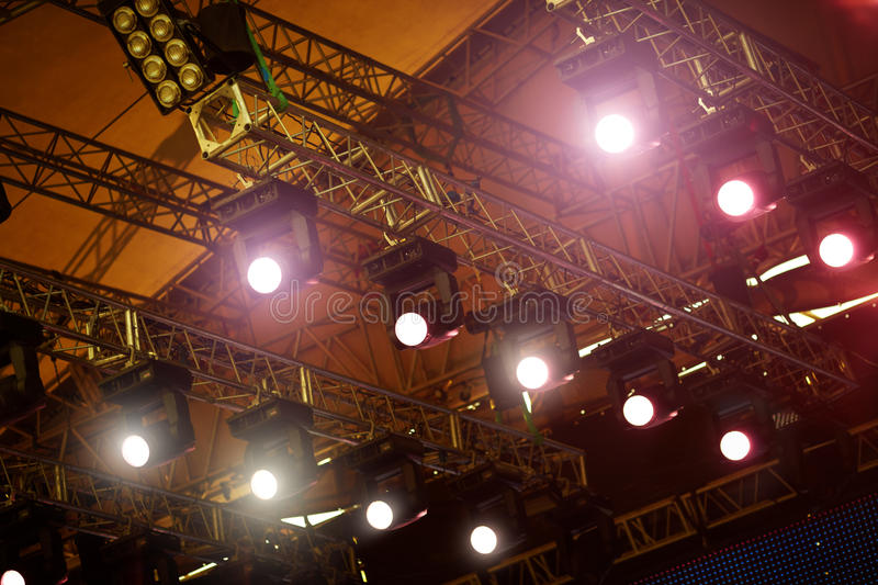 Stage Lights royalty free stock images