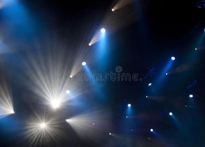 Download Stage lights stock image. Image of show, music, player - 21804167
