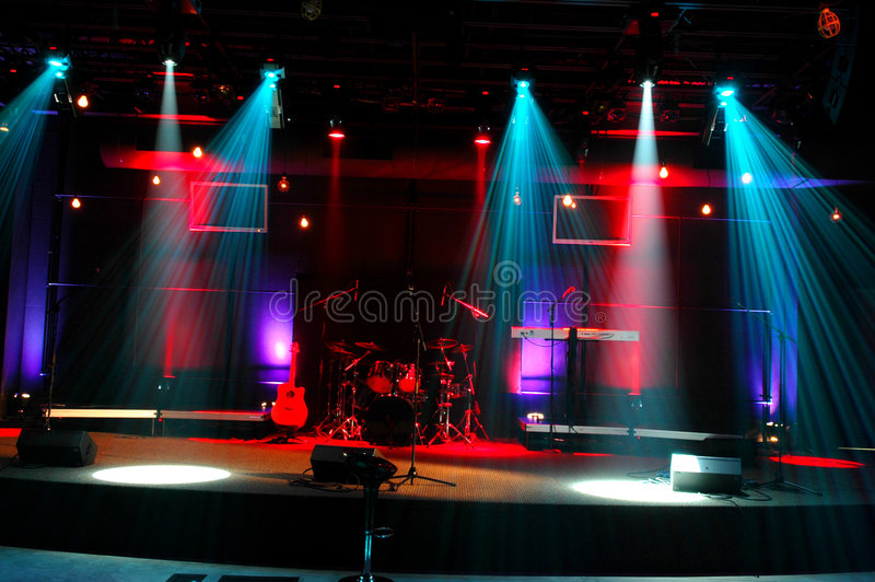 Download Stage Lights Royalty Free Stock Photos - Image: 3572808