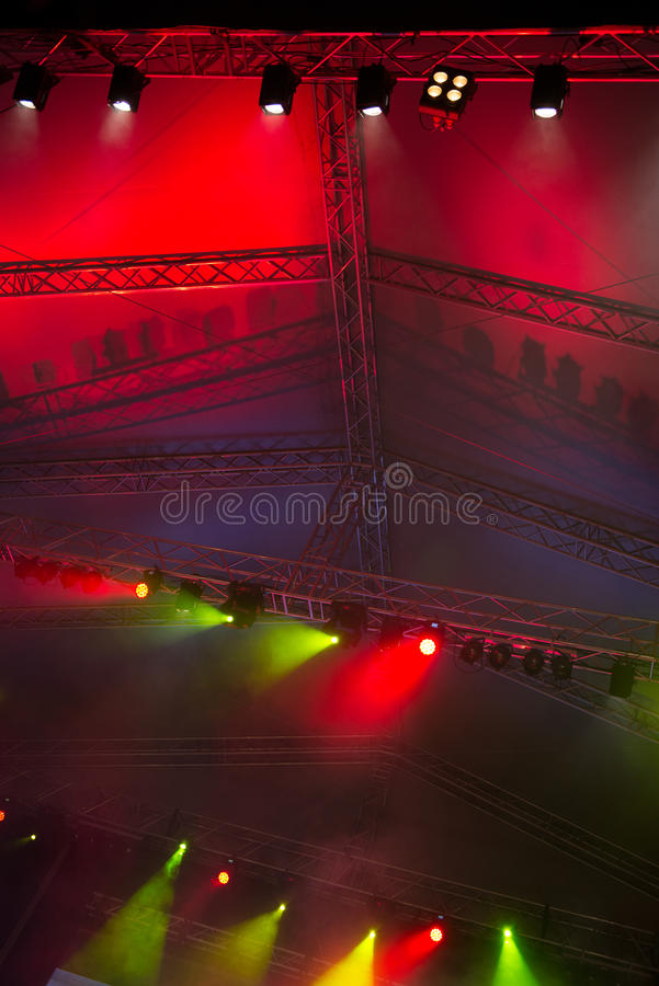 Download Stage lights stock image. Image of musical, hollywood - 35610225