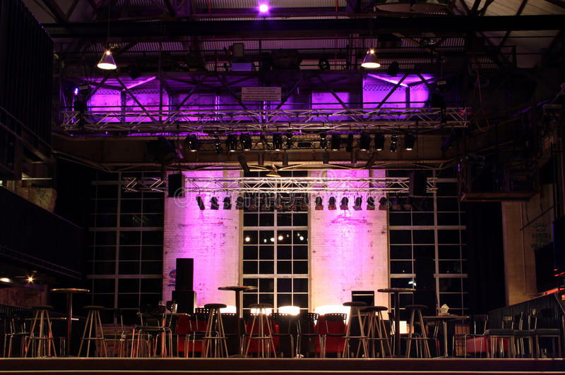 Download The Stage Is Set stock photo. Image of lighting, stage - 12982878