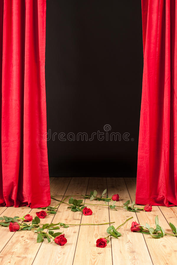 Download Stage theater stock photo. Image of flowers, stage, clothes - 22497074