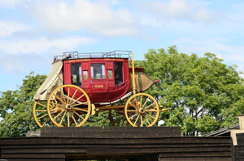 Stagecoach lizenzfreie stockfotografie