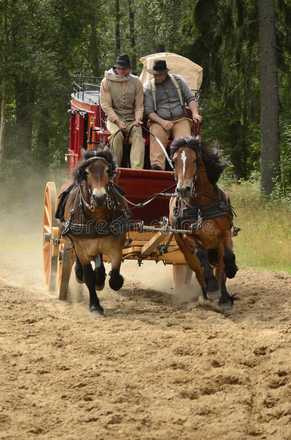 Free Stagecoach Stock Photography - 26121072