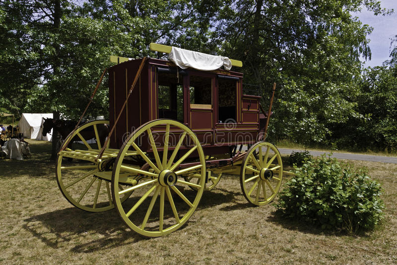 stagecoach fotografia stock libera da diritti