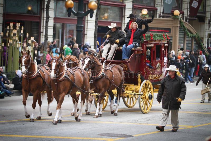 Stagecoach de Wells Fargo imagens de stock royalty free