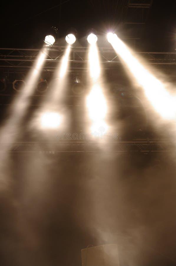 Stagelights imagens de stock royalty free