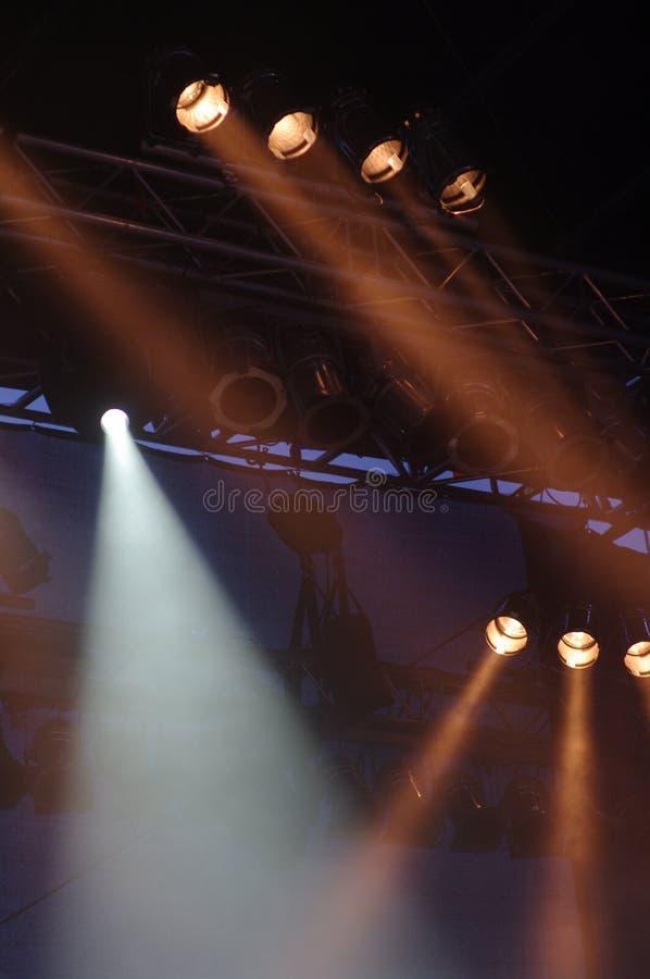 Stagelights imagem de stock royalty free