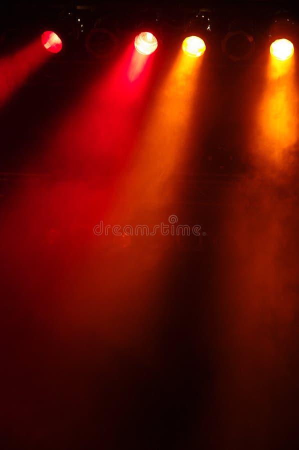 Stagelights stock fotografie