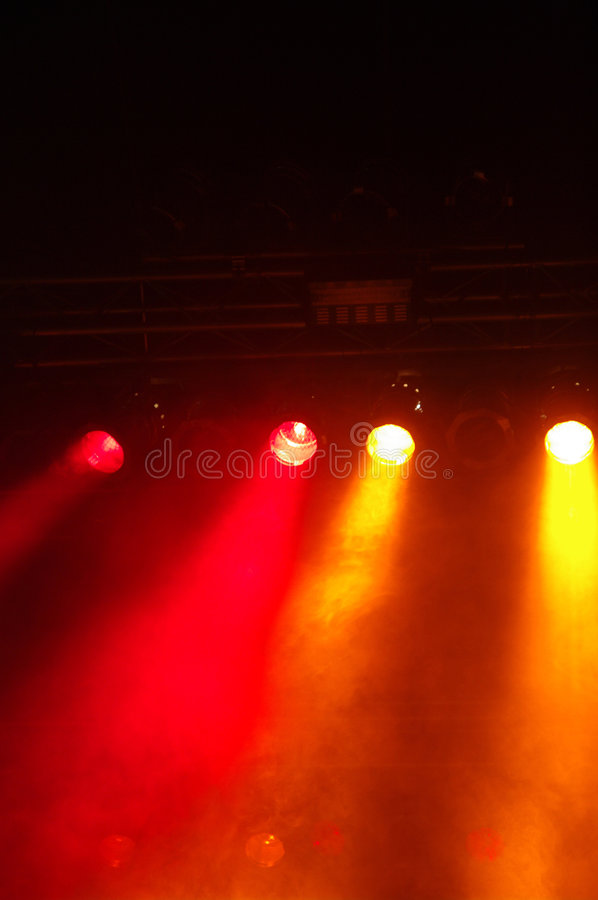 Stagelights foto de stock royalty free