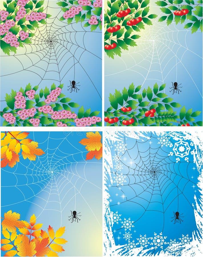Stagioni dell'anno royalty illustrazione gratis