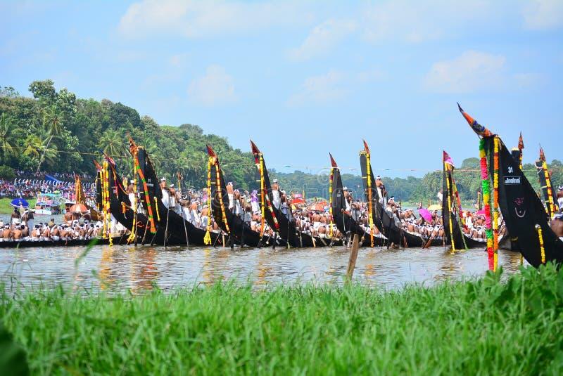 Stagni del Kerala, viaggio e turismo, festival del Kerala fotografie stock libere da diritti