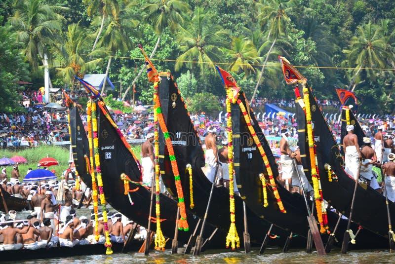 Stagni del Kerala, viaggio e turismo, festival del Kerala fotografia stock