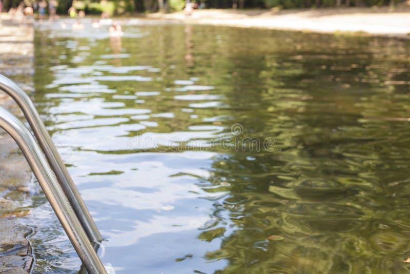 Stagni naturali di Codosera della La, Spagna fotografia stock libera da diritti