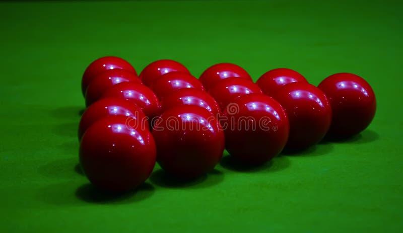 Stagno della palla dello snooker 8 fotografia stock