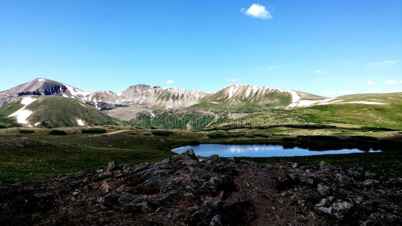Stagno della tundra fotografia stock