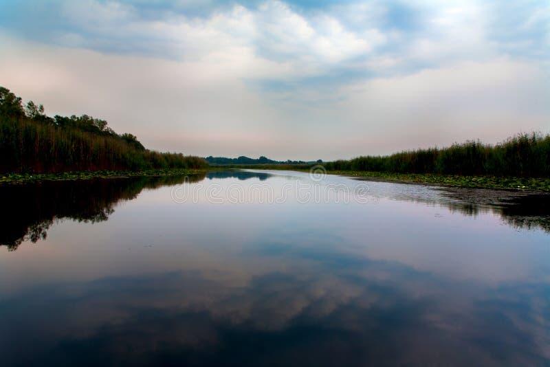 Stagno di Obedska fotografia stock libera da diritti