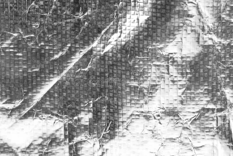 Stagnola d'argento immagine stock