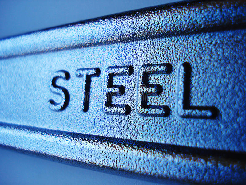 Stahl stockfoto