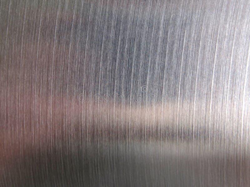 Stahl gebürstete Metallbeschaffenheit stockfotos