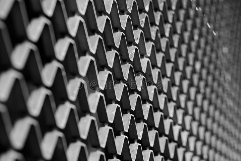 Stahl-Grit Construction stockfoto