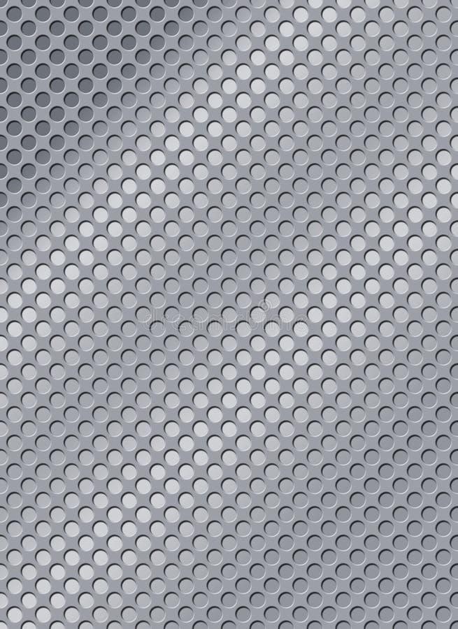 Stahl mit Löchern