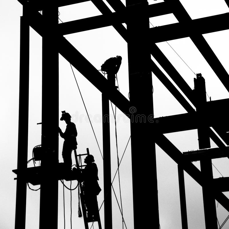 Stahlarbeit lizenzfreies stockfoto