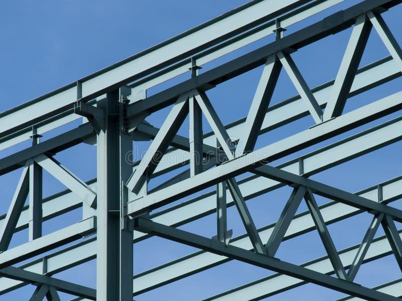 Stahlaufbau-Feld lizenzfreie stockfotos