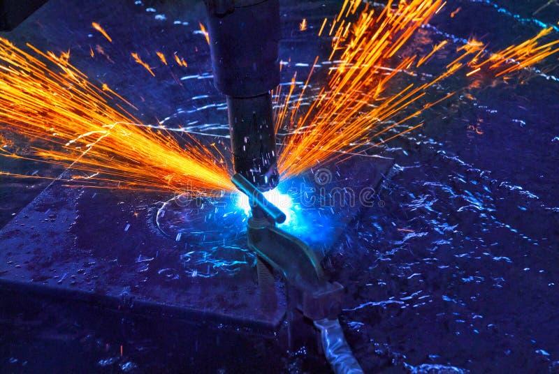 Stahlausschnitt lizenzfreies stockbild