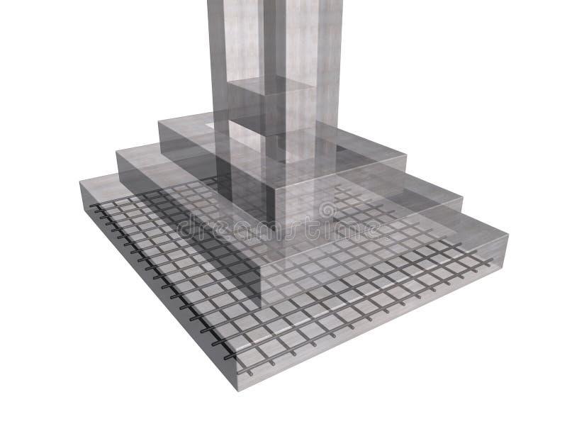 Stahlbetonstruktur vektor abbildung