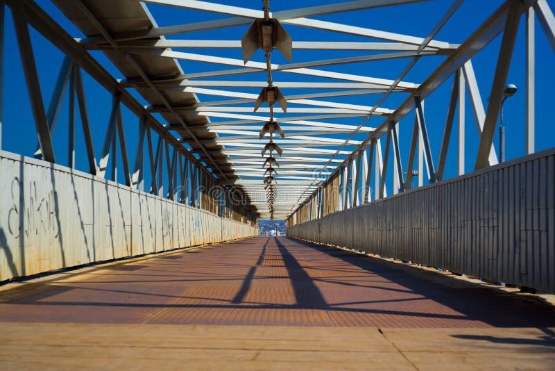 Stahlbrücke stockfotos