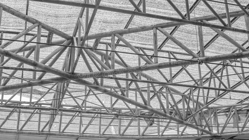 Stahldachbinder stockbild