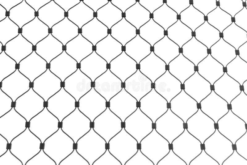 Stahlfiletarbeit getrennt auf Weiß stockfotografie