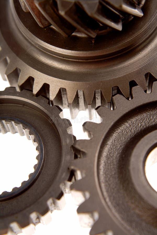 Stahlgänge stockbild