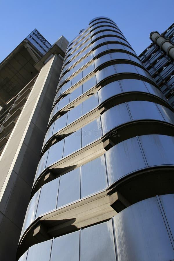 Stahlgebäude stockfotos