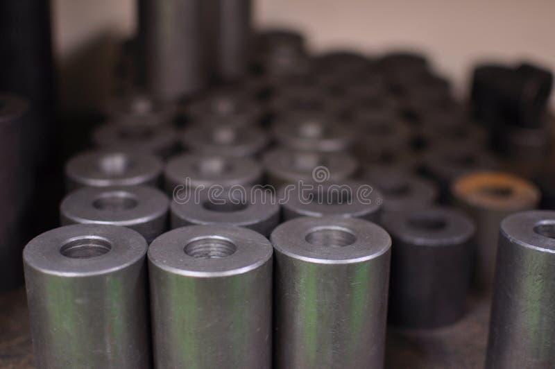 Stahlhülse stockfotografie