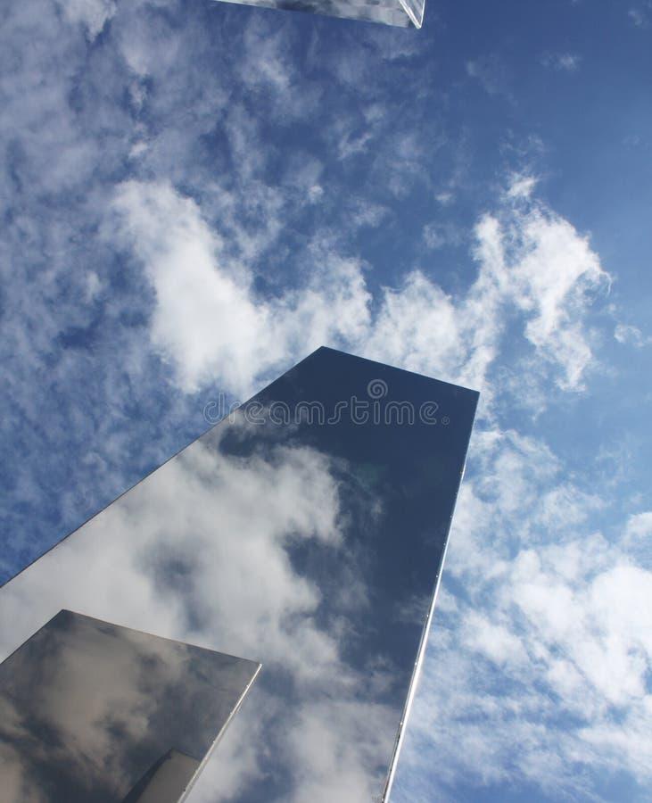 Stahlhimmel stockfotografie